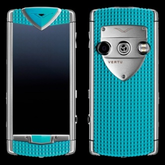 Vertu Constellation T Smile Coral Blue