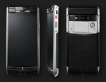 Vertu Signature Touch Jet Leather