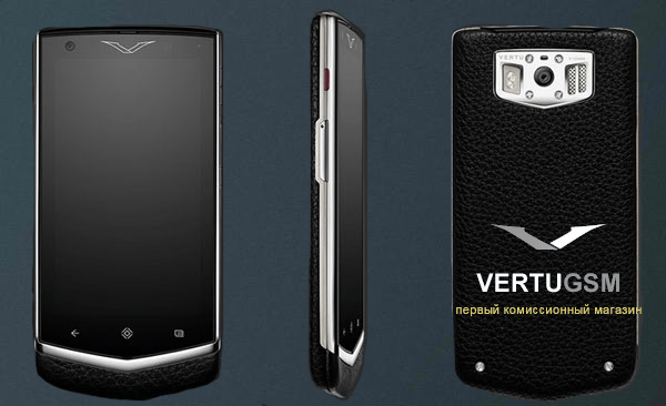 Vertu Constellation Extraordinary Black дорогой смартфон