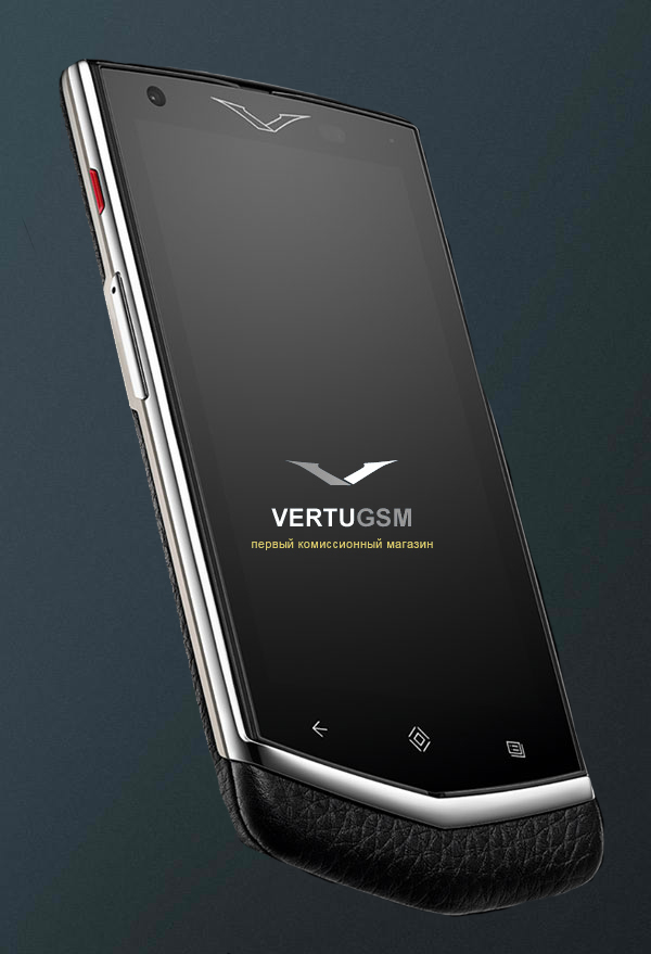 Vertu Constellation Extraordinary Black элитный тачфон