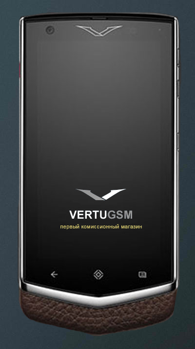 Vertu Constellation Extraordinary Mocha элитный тачфон