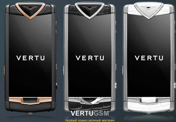 Vertu Constellation Touch коллекция