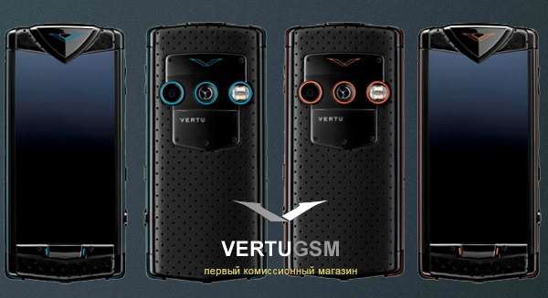 vertu constellation touch black neon