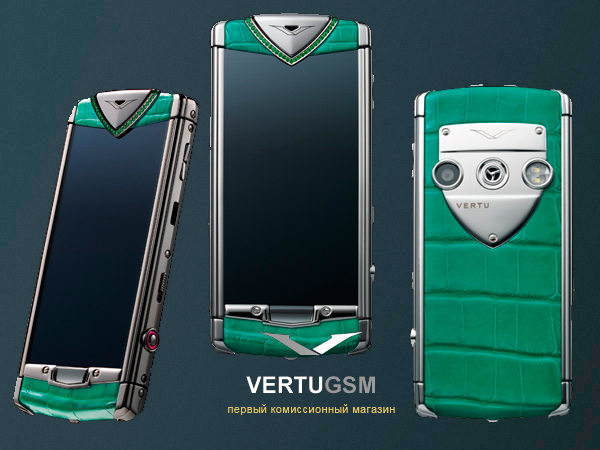 Vertu сенсорный Constellation T Candy 2012