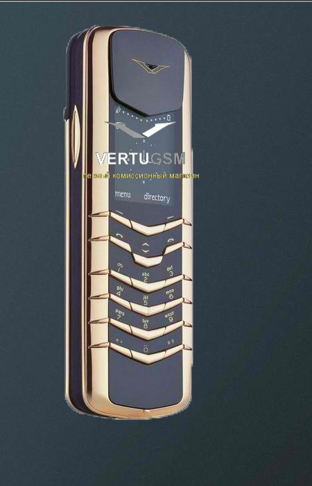Vertu Signature Yellow Gold 18K